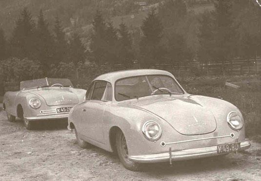 Der Porsche Sportwagen 356: Er gilt als Vorgängermodell des Ur-Porsche 911.