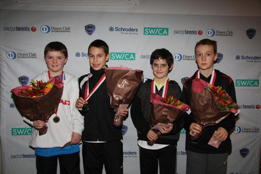 1 Rang Schweizermeisterschaften MS U12 / 2013