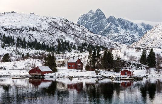 Típico paisaje de Lofoten