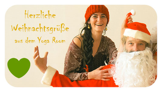 Weihnachtsgrüße aus dem Yoga Room