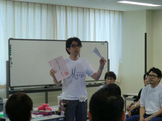 宮崎県理容組合のニューヘアー講習が、鹿児島から坂口拓也中央講師を招いて開催された。(2017.7.24)