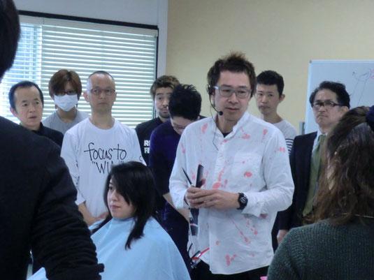 古里マサヒコ先生が、鹿児島早苗会の2017年1回目の講習に。