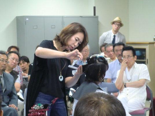 宮崎県組合講習が、荒木美智子中央講師(佐賀)を招いて開催された。