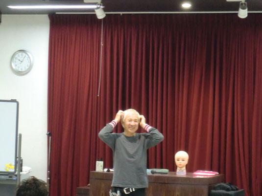 古里オサム先生が、鹿児島早苗会講習に登場。