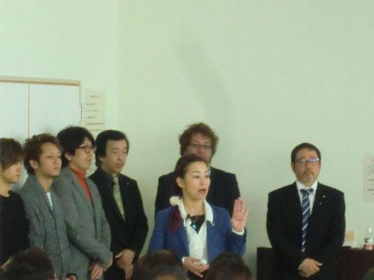鹿児島県組合講習が姶良公民館にて開催された。 講師は、山口直美中央講師(福岡)。