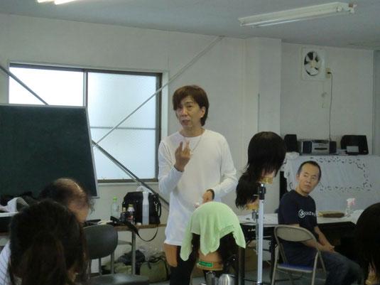 田中裕高中央講師(佐賀)が、鹿児島早苗会講習(2016年7月期)に登場。