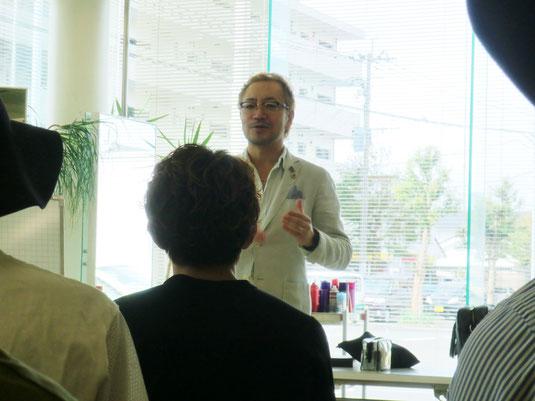 宮崎の研究会FHCの講習が、都城のサロンCuRAReにて開催された。 講師は、福岡から山口貴志中央講師。