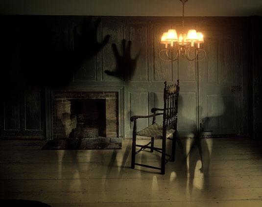 Wenn die eigenen vier Wände zum Horrorfilm werden.