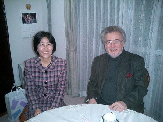 ぺトルシャンスキー教授と渡辺美恵