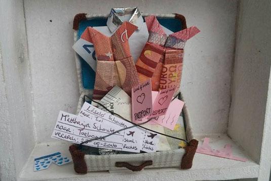 Bekend Cadeautip voor een bruiloft - Geld geven op een originele manier #NJ79