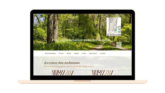 Altitude 445 | Gîte et B&B | Création du site web