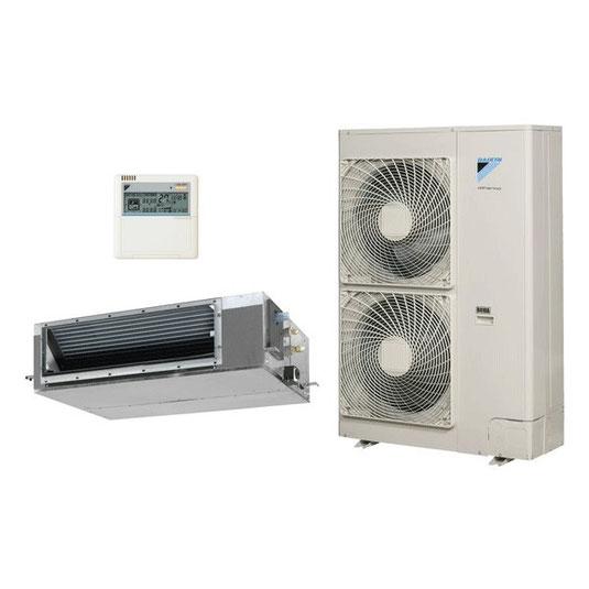 Climatiseur gainable et son condenseur