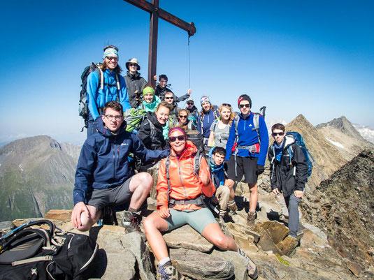Auf dem 3.134 Meter hohen Schönbichler Horn