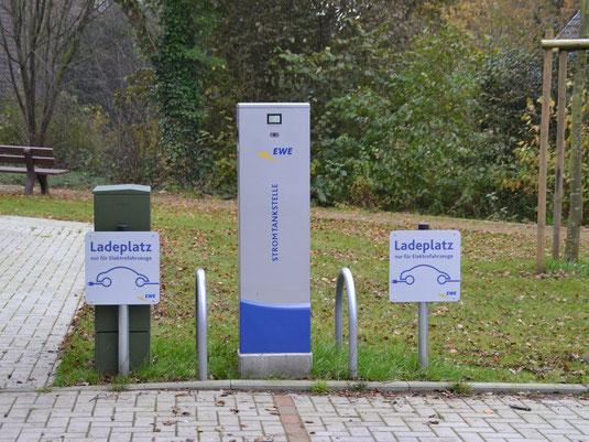 E-Carsharing Tarmstedt (Foto: Marcel Bonse, 2017)