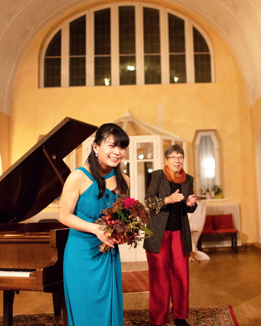 Recital at the Schloss Lelkendorf, Germany (17.11.2018)