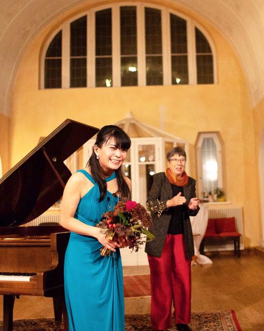 Recital at the Schloss Lelkendorf, Germany (17.11.2018)