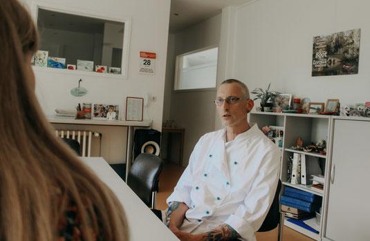 Hans Luka (Sozialarbeiter, systemischer- und Familientherapeut im BSW Muldental e.V.)