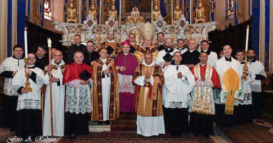 Mönchsweihe in San Tommaso, Dolcedo