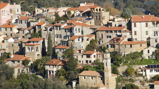 Ferienhäuser im Westen Liguriens