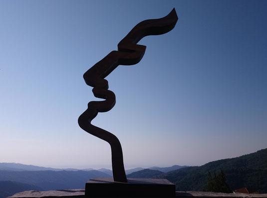 Metallskulptur von Heiner Böttger 2001