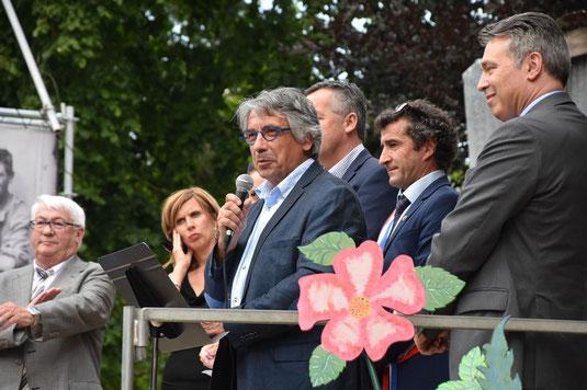 Discours de Monsieur Laurent Somon président du Conseil départemental