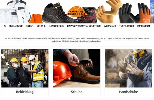 Arbeitskleidung in Großhandel