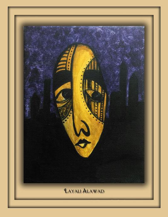 Die Kunst der Layali Alawad, präsentiert in der Ausstellung Spektrum 2016 in der Aula Carolina auf der Aachener Kunstroute 2016 in der Galerie Frutti dell'Arte.
