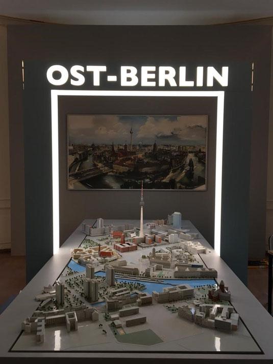 """Aus der Ausstellung """"Ost-Berlin. Die halbe Hauptstadt"""", Bild: Florentine Schmidtmann"""
