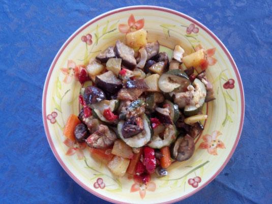 Rezept Griechischer Gemüseauflauf