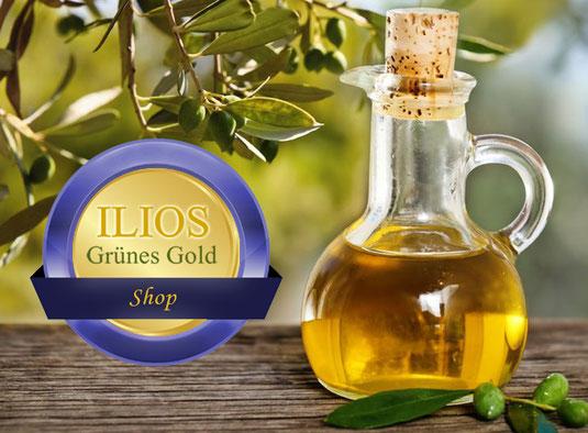 online Shop, extra natives griechisches Ölivenöl, Seifen, Pflegeprodukte, griechische Kräuter, griechischer Bergtee