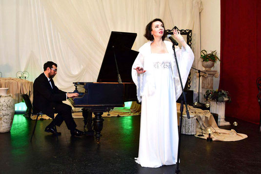 Ольга Москвина - певица, поэтесса