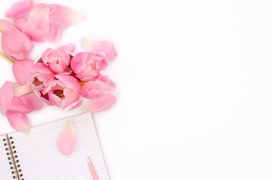草原に咲き乱れるたんぽぽ。ぐるりと円を囲むように立てられた書籍。