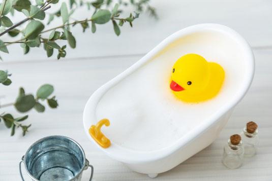 タオルと歯ブラシ。石鹸。