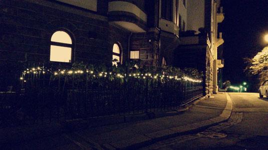Hannes' Zuhause in der Weihnachtszeit