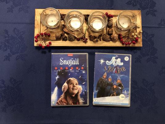 Adventskranz und Julekalender