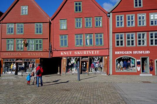 Das Weltkulturerbe Bryggen.