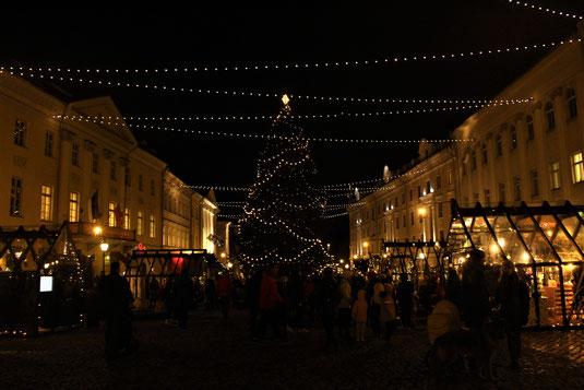 Weihnachtliches Tartu
