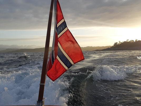 Abschied aus Norwegen