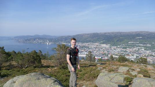 Hannes beim Wandern