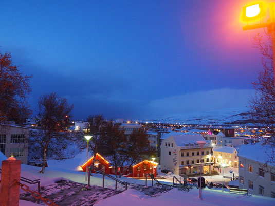 Akureyri im November