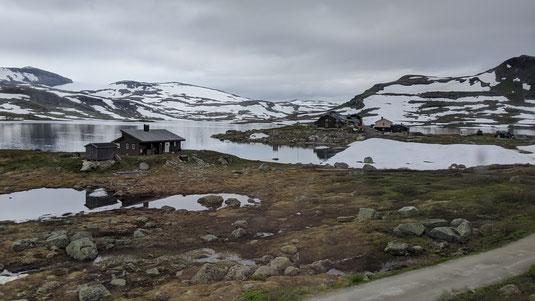 Auf der Fahrt nach Bergen