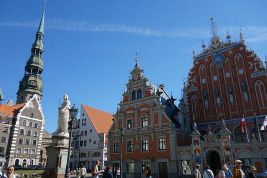 Die Altstadt in Riga.