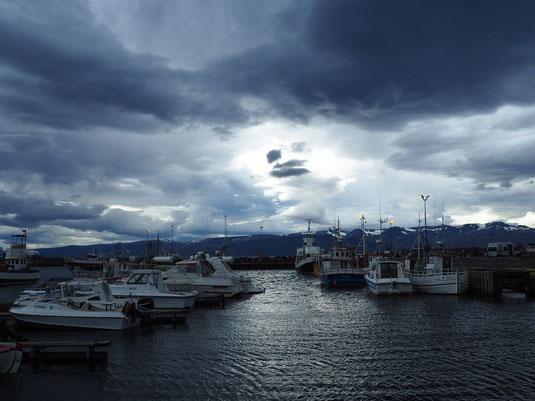 Hafen in Husavik
