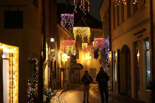 Vilnius in der Weihnachtszeit