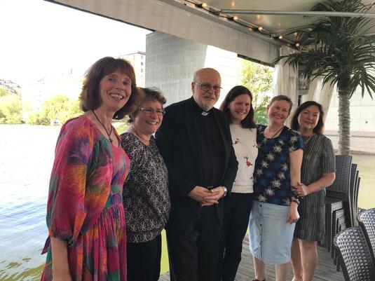 Kardinal Arborelius, Sophie und das KPN Team