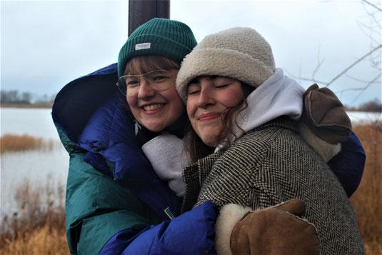 Claire und Antonia