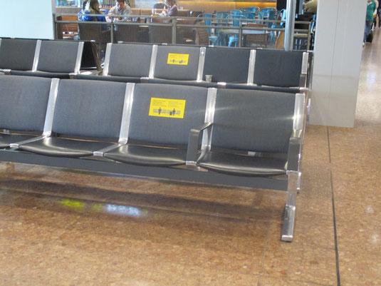 Am Flughafen - auf dem Weg nach Schweden