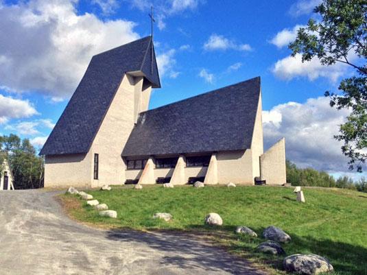 Die Eystein-Kirche.