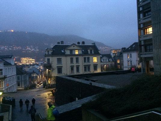 Bergen - hier absolvierte Camillo sein Praktikum