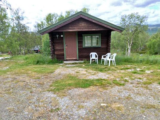 Die Hütte in Furuhaugli.